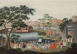 CHINESE SCHOOL, 19TH CENTURY