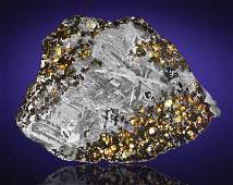 SPACE GEMS IN NATURAL IRON MATRIX FEATURED IN COMPLETE