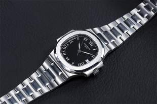 PATEK PHILIPPE, REF. 3800/1A-001, A STEEL NAUTILUS WITH