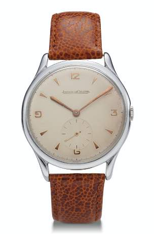 JAEGER LE-COULTRE, SUBSIDIARY SECONDS HAND, STEEL