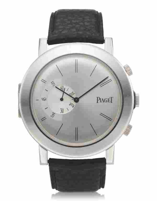 PIAGET, 18K WHITE GOLD, ALTIPLANO, LIMITED EDITION NO.