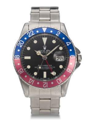 """ROLEX, GMT MASTER,""""POINTED CROWN GUARDS"""","""