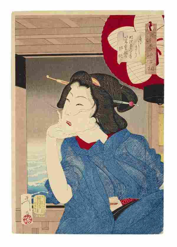TSUKIOKA YOSHITOSHI (1839-1892)