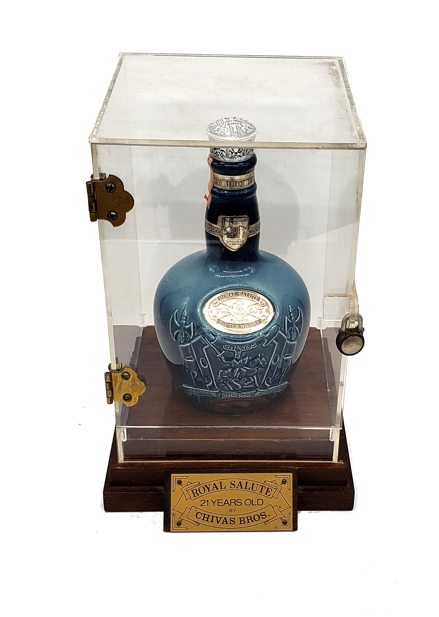 Royal Salute 21 Years Old By Chivas Bros Bottle!