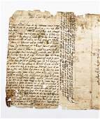 Antique Sephardic Judaica Manuscript 1819 Century