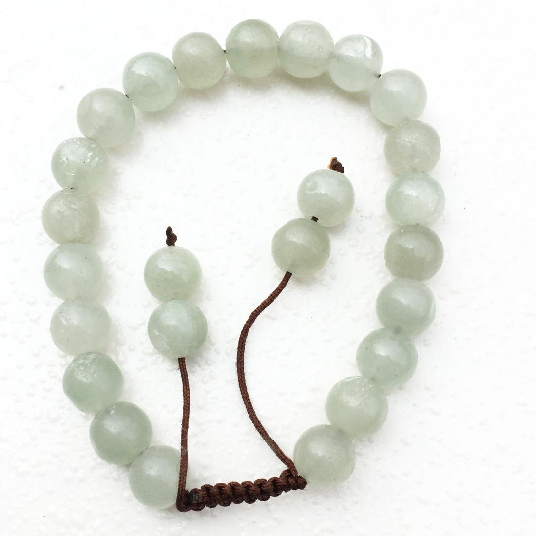 8MM Natural Jade Handmade Bracelet