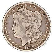 1890cc (Carson City) Morgan Silver Dollar