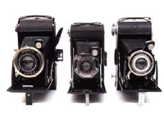 Camera Lot  3 Cameras Bessa Voigtlander Compur Agfa