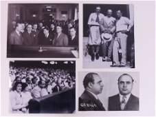 Al Capone Unseen Photo lot of 17 pcs