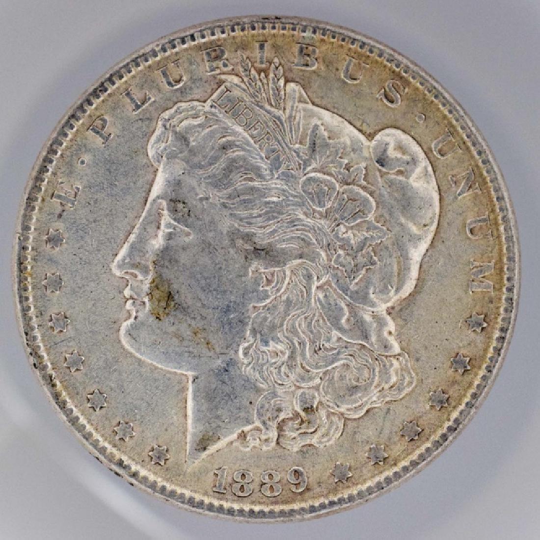 1889 Morgan Silver Dollar 1889 Philadelphia mint