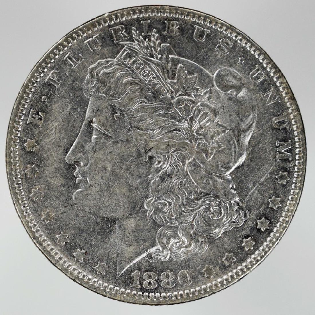 1880-o Morgan Silver Dollar 1880 New Orleans Mint