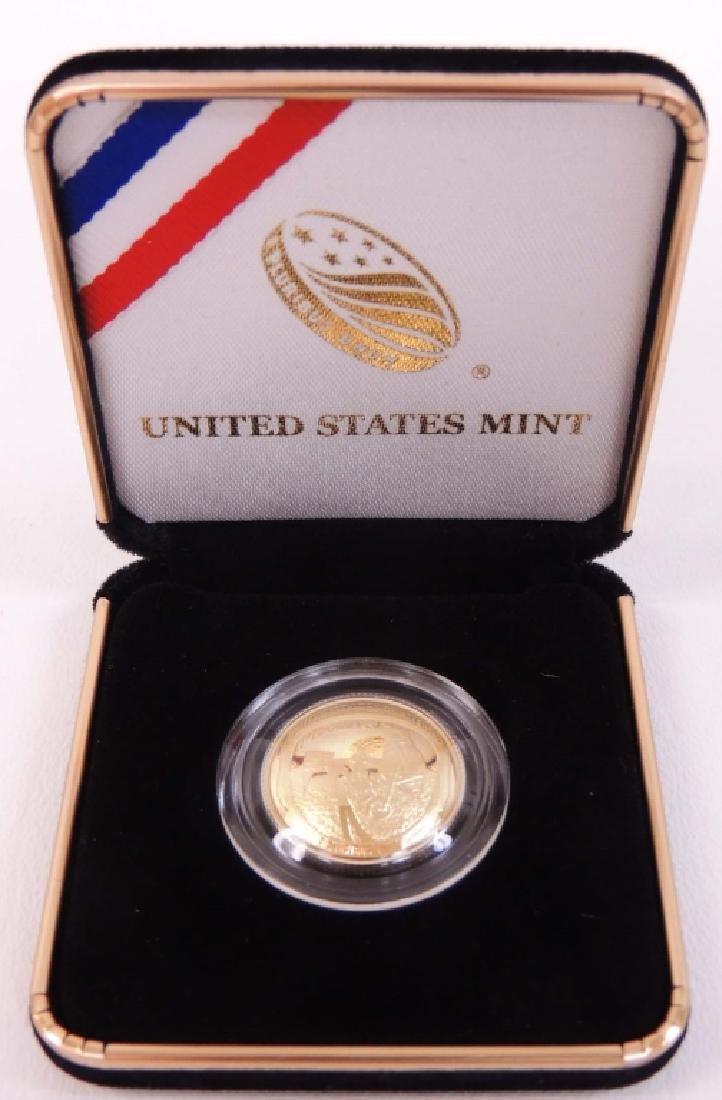 2019-w proof Apollo 11 gold coin Coin commemorating