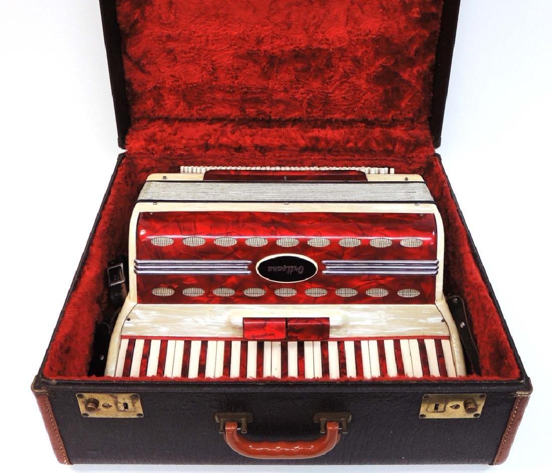 Ortigara Italian Accordion w/ Case 226/249 LOCAL PICKUP