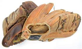 2 Baseball Mitts - Billy Pierce & Ted Williams