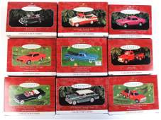 30 Car and Truck Hallmark Christmas Ornaments