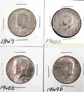 Kennedy half dollars 40 silver 4