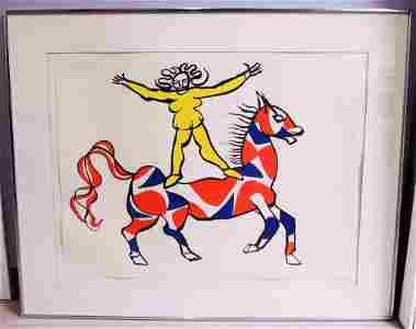 Alexander Calder Artist's Proof, Ca 1969