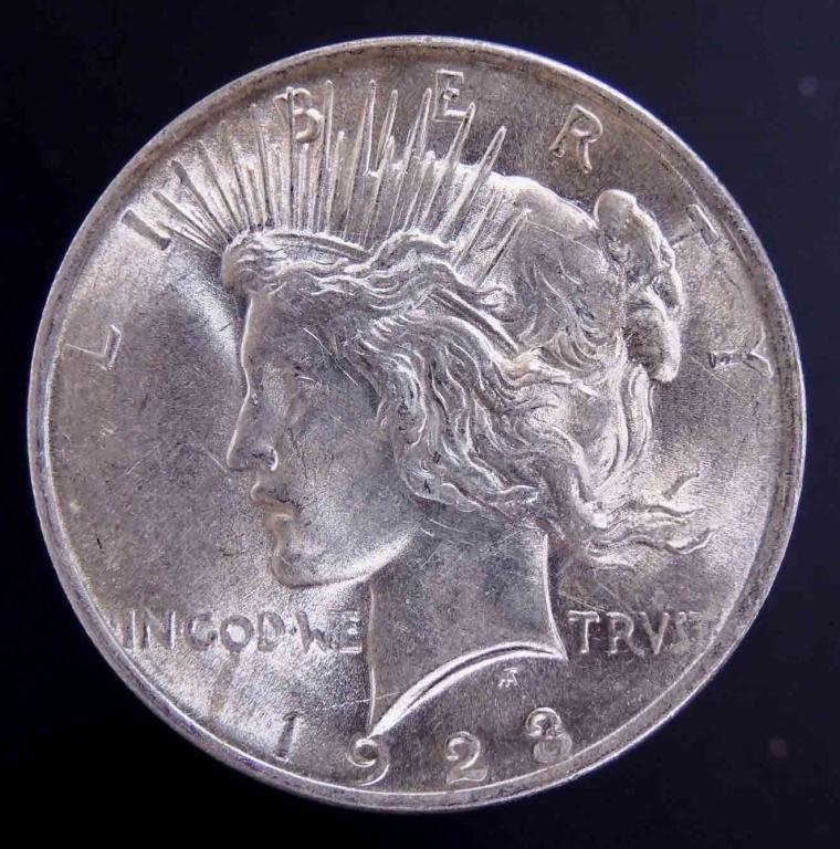 1923 Peace silver dollar (nice condition!)