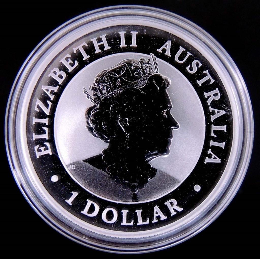 2019 Australian Koala Fine Silver 1 ozt.