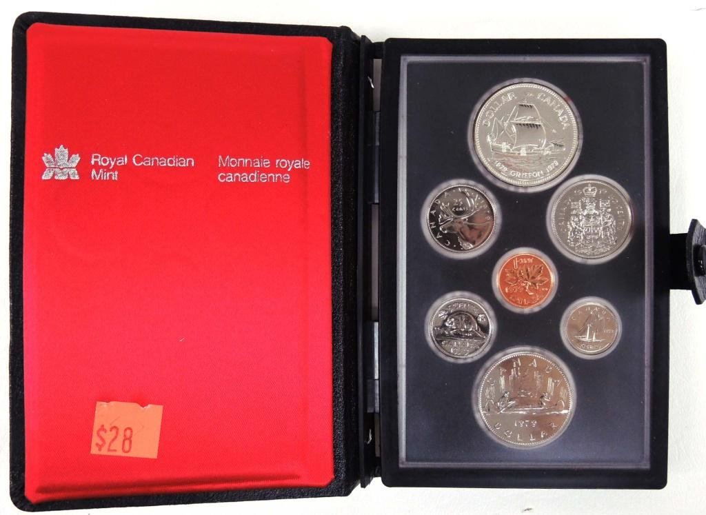 1979 Canadian Double Dollar Set