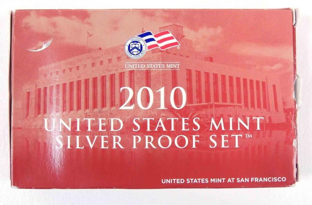 2010 U.S. Mint Silver Proof Set