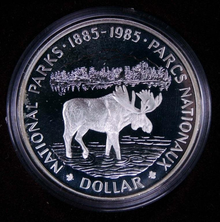 Canadian National Parks Dollar