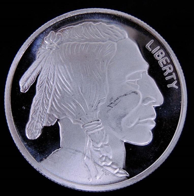 1 ozt. Buffalo Silver Round