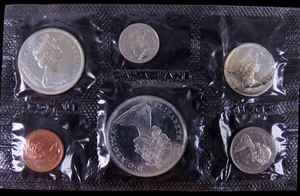 1965 Canadian Mint Set