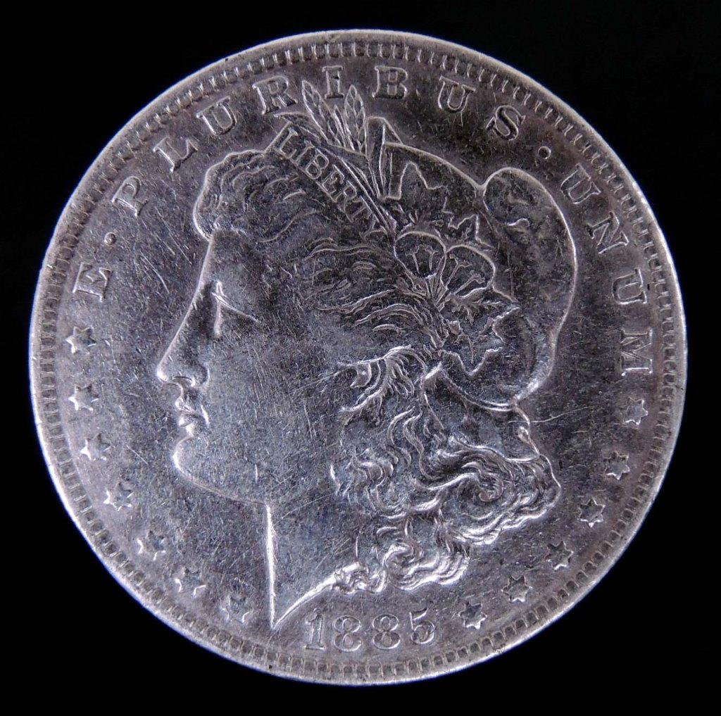 1885 - o Morgan Silver Dollar