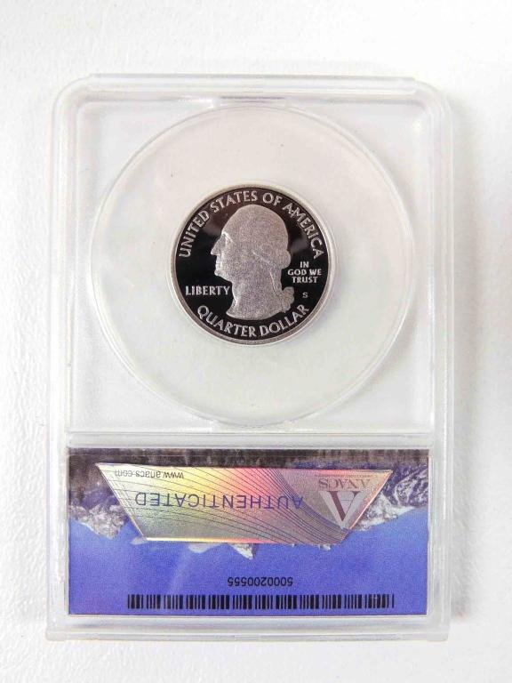 2010 Mt. Hood National Park Quarter (ANACS PR70