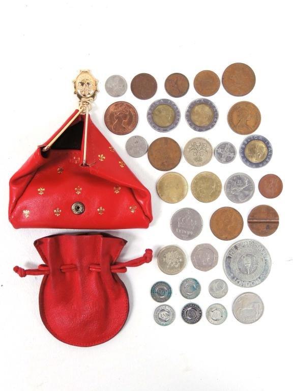 Foreign Coin & CTA Token Lot