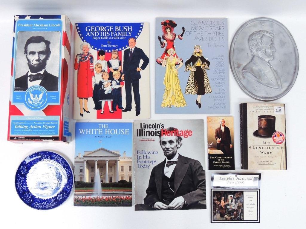 Lincoln & Historical Memorabilia Box