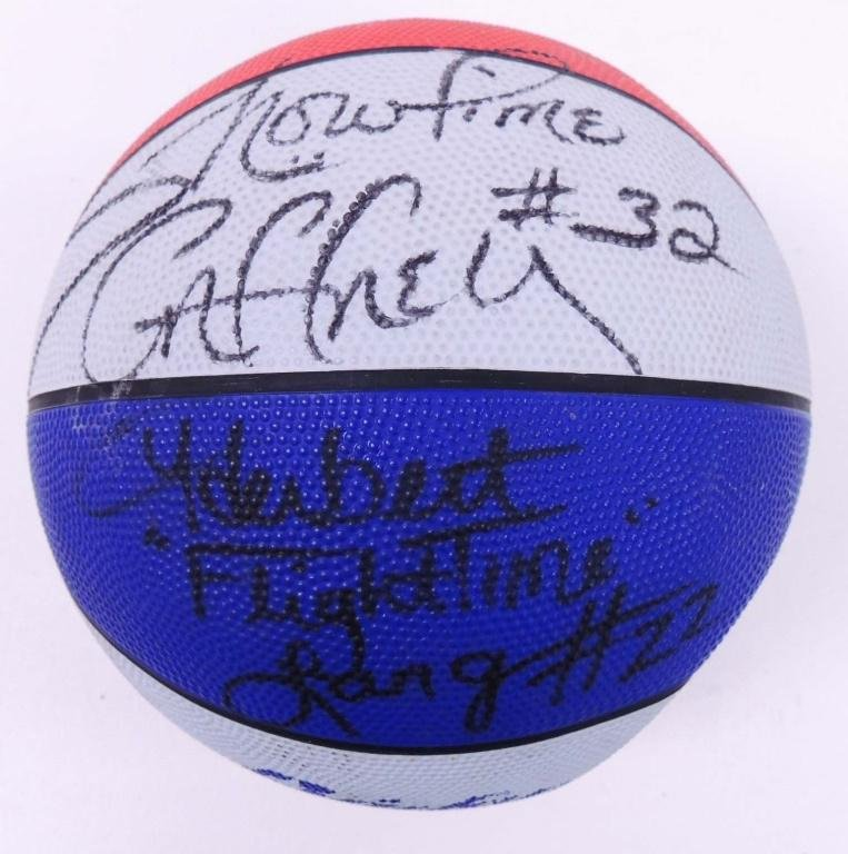 Signed Harlem Globetrotters Basketball