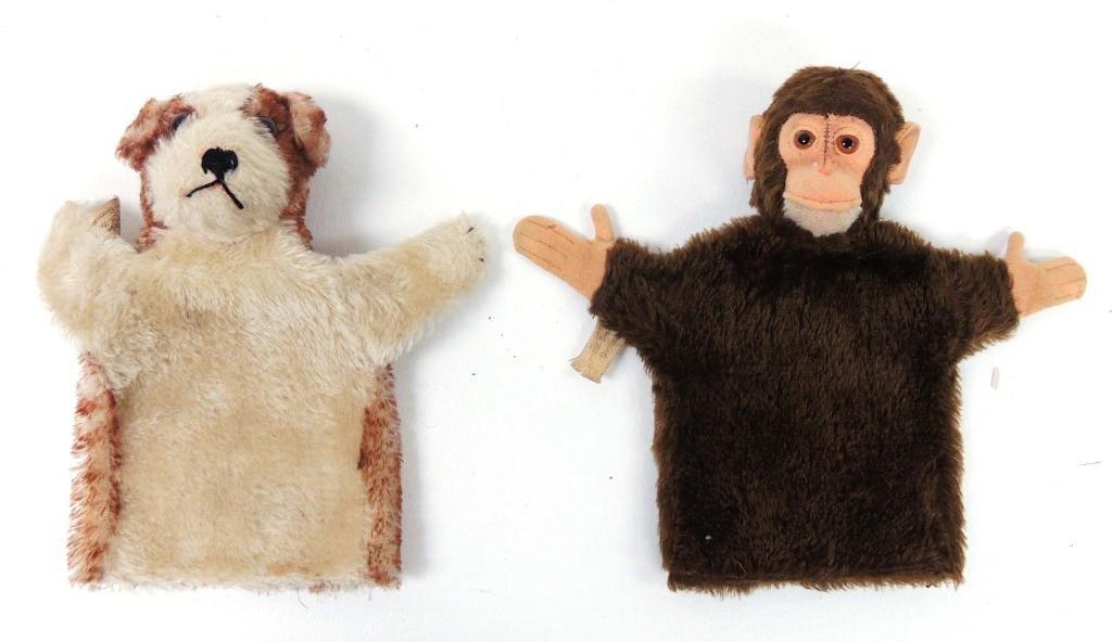 Steiff Hand Puppets (2)