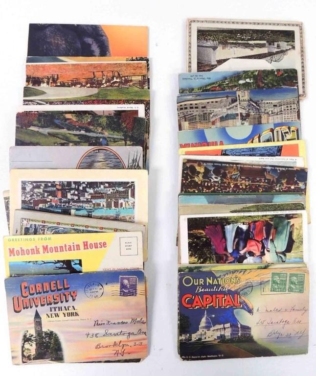 Approximately 25 Postcard Sets