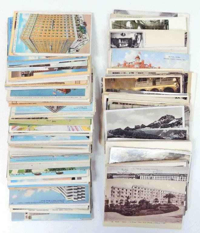 Vintage / Antique Hotel Postcards
