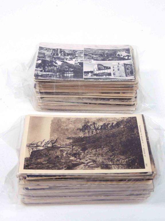 400 Vintage France Postcards