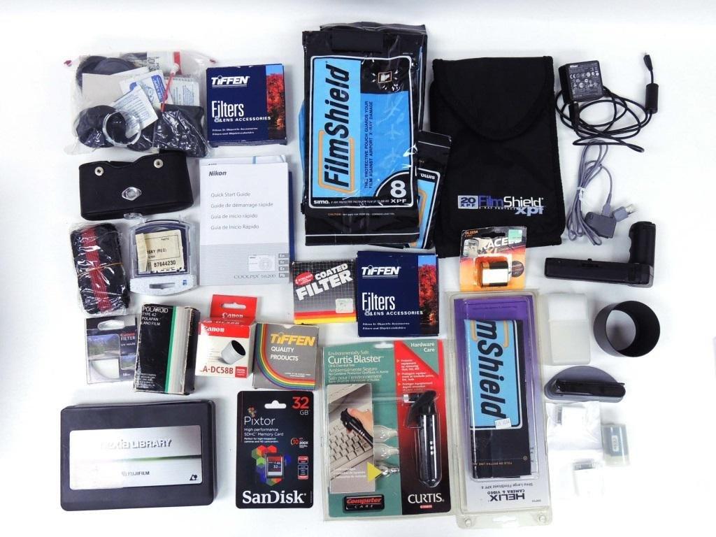 Camera Lot, Including Nikon, Pentax, Canon