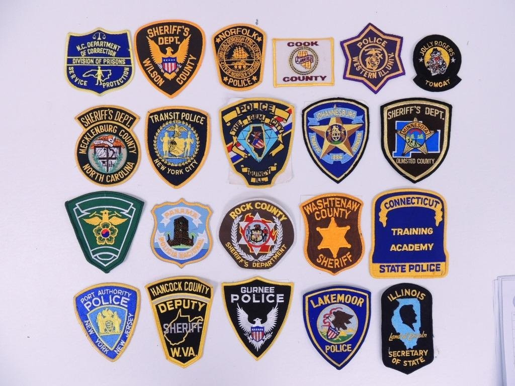 Police Patches (24)