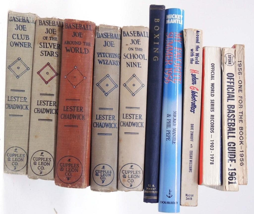 Vintage Baseball Books & Guides