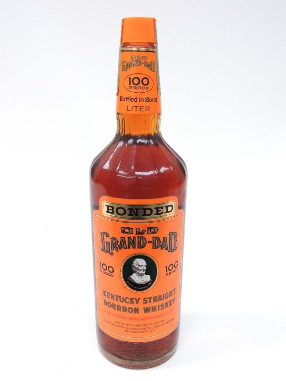 Old Grand-Dad Bonded 100 Proof, Liter