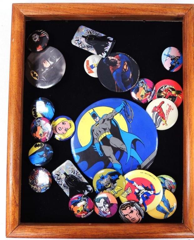 Superhero Buttons