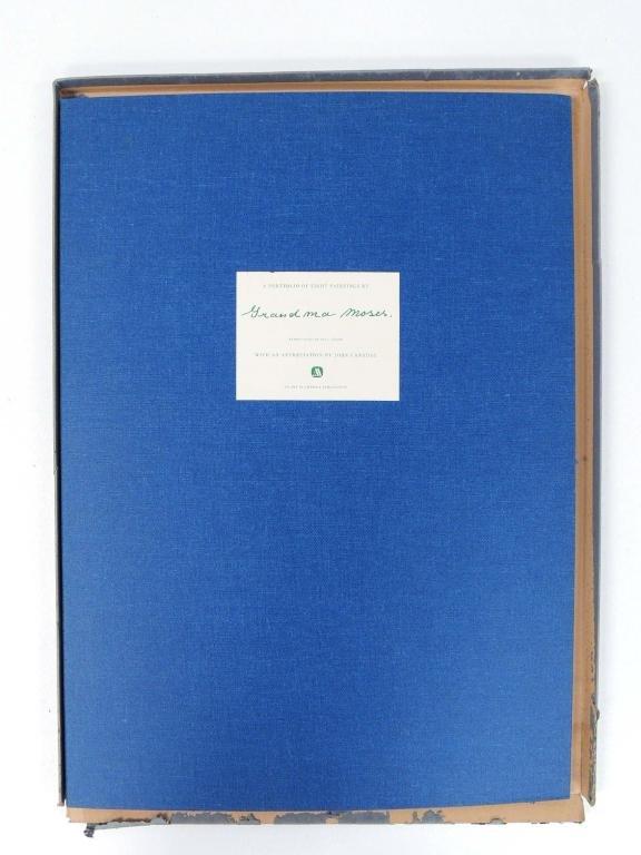 Grandma Moses Book w/ Prints & Magazine Clippings