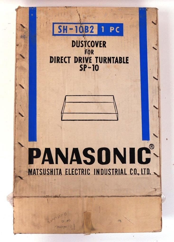 Panasonic Dustcover for Direct Drive Turntable I