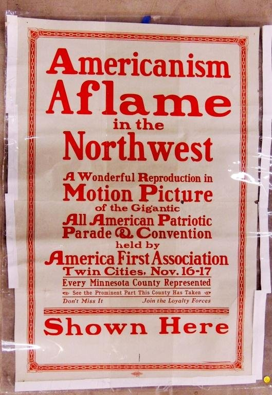 Americansim Aflame in the Northwest
