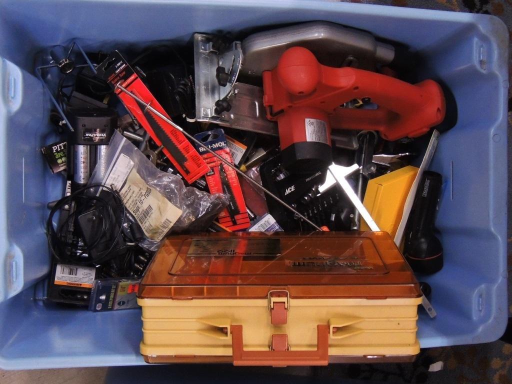 Small Tools & Circular Saw, Versapak Mixed Lot