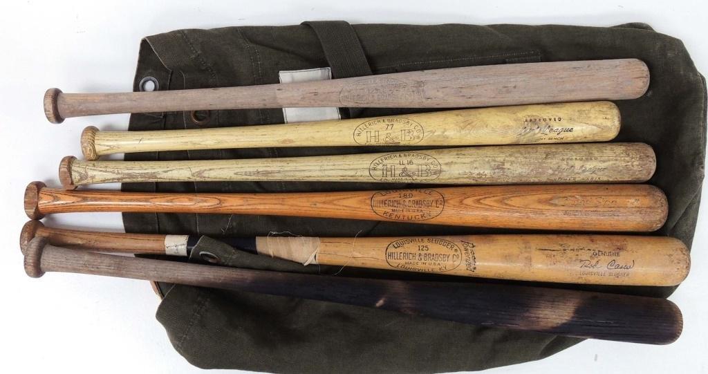 6 Baseball Bats