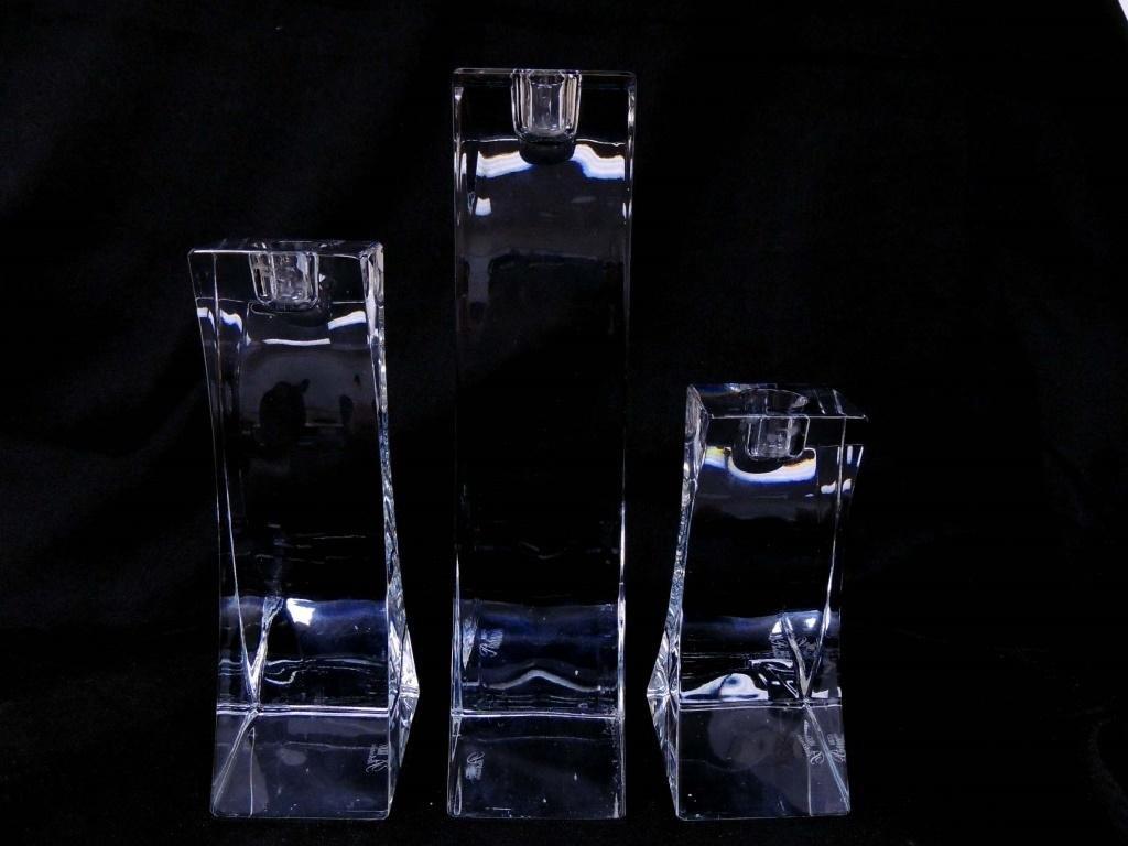 Mikasa Platinum Candle Holder Set