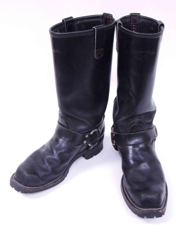 Wesco Harness Motorcycle Boots - Black Size 12 (?)