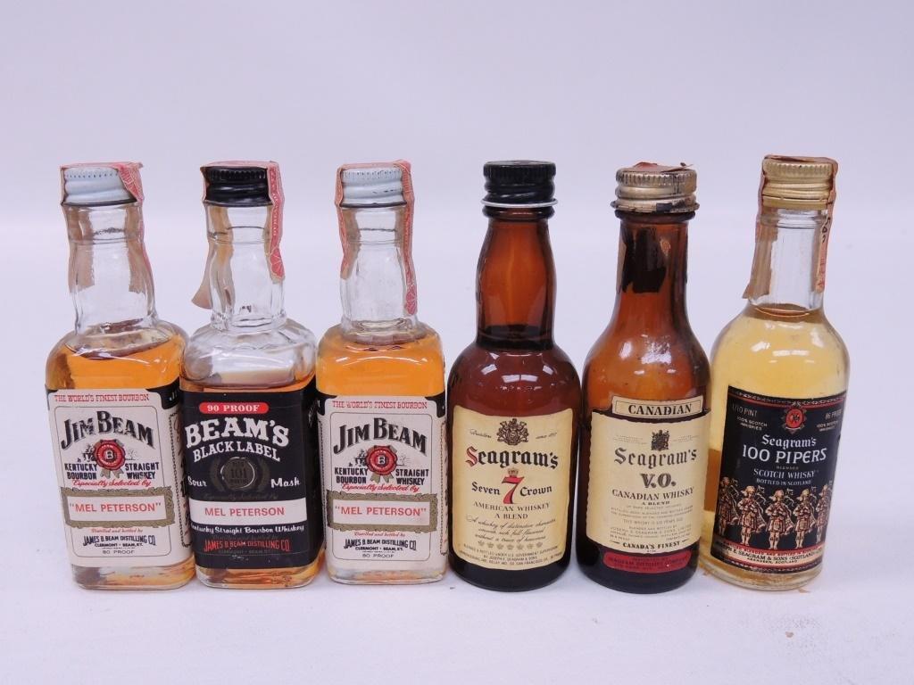 19 Mini-Bottles